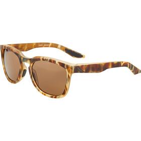 100% Hudson Glasses matte havana